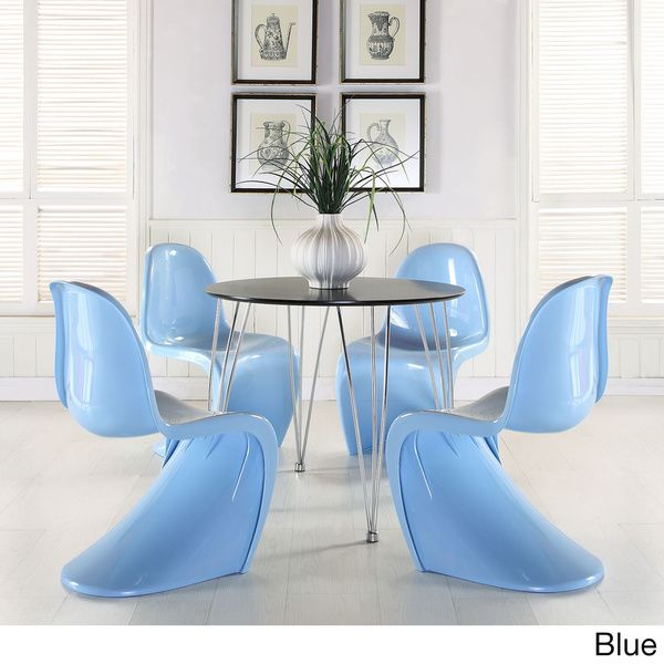 Verner Panton Style Chair (Set of 4) - Overstock Shopping - Great Deals on Modway Dining Chairs