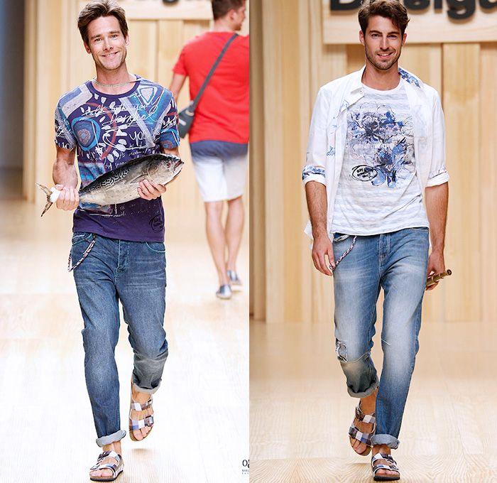 Street Style Fashion 2015 Spring Summer In Spain 2015 Spring Summer Mens Runway Catwalk Looks