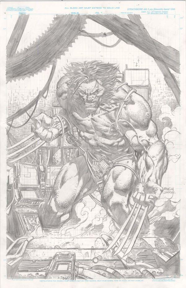 David Finch - Weapon X-Pencils Only//David Finch/F/ Comic Art Community GALLERY OF COMIC ART
