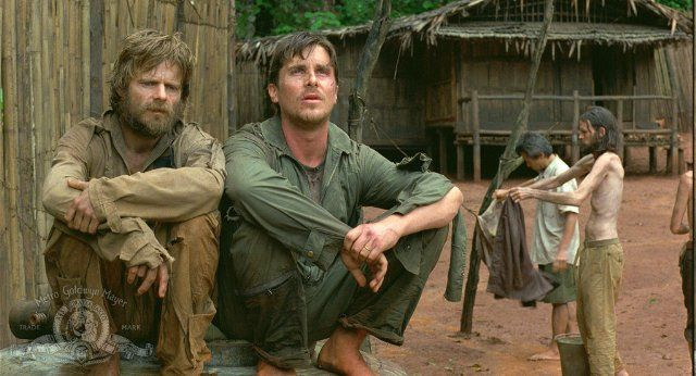 Still of Christian Bale and Steve Zahn in Rescue Dawn