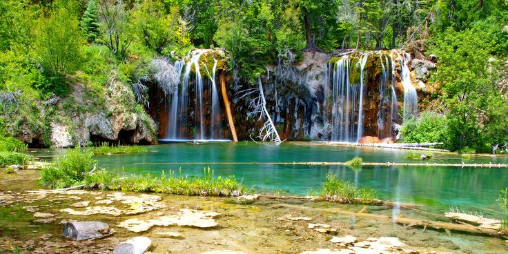 Hanging Lake, in Glenwood Canyon | 17 Breathtaking Places To Go Soul Searching In The Colorado Rockies