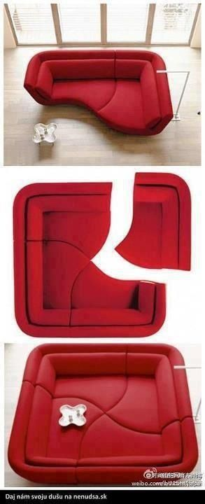 The basic idea behind Edie's couch