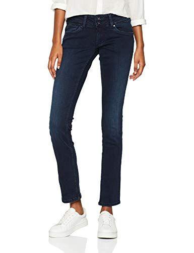 217b2c7da1 Pepe Jeans Vera, Vaqueros Slim para Mujer   Vaqueros mujer   Pepe ...