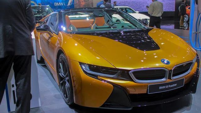 BMW Inspires with 2019 i8 Roadster at 2017 Los Angeles Auto Show