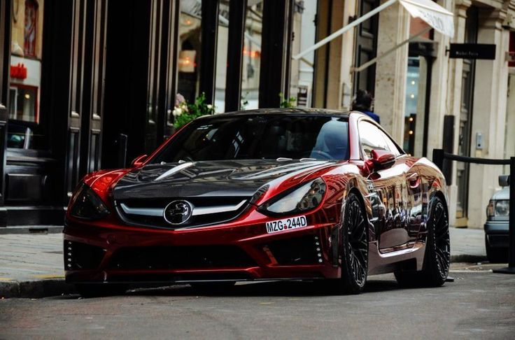 One of the most aggressive and dynamic customized Mercedes cars