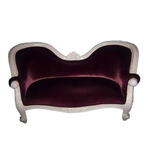 JazTy Victorian Kids Double Love Seat Couch