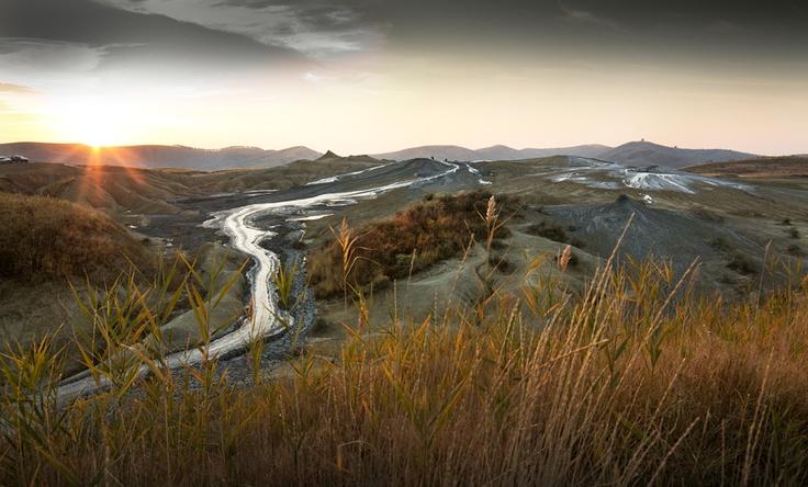 Muddy Volcanos (Vulcanii Noroiosi), Buzau, Romania
