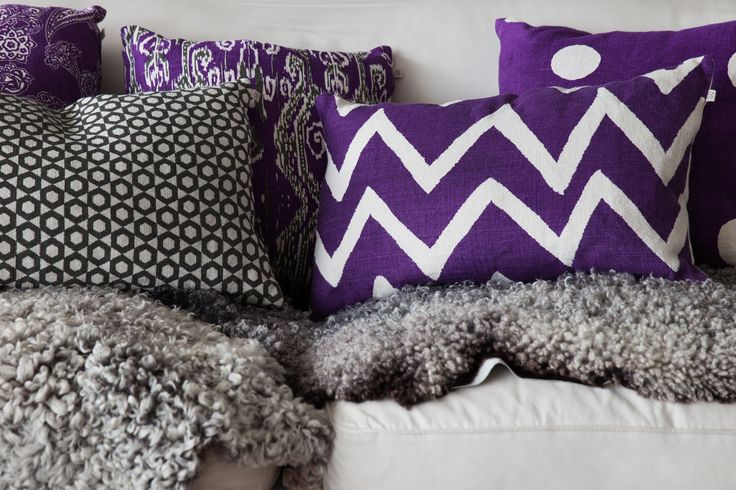 Cushions from Chhatwal & Jonsson