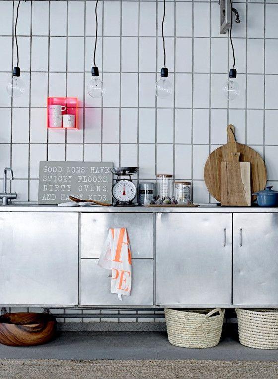 het recept voor een scandinavische keuken
