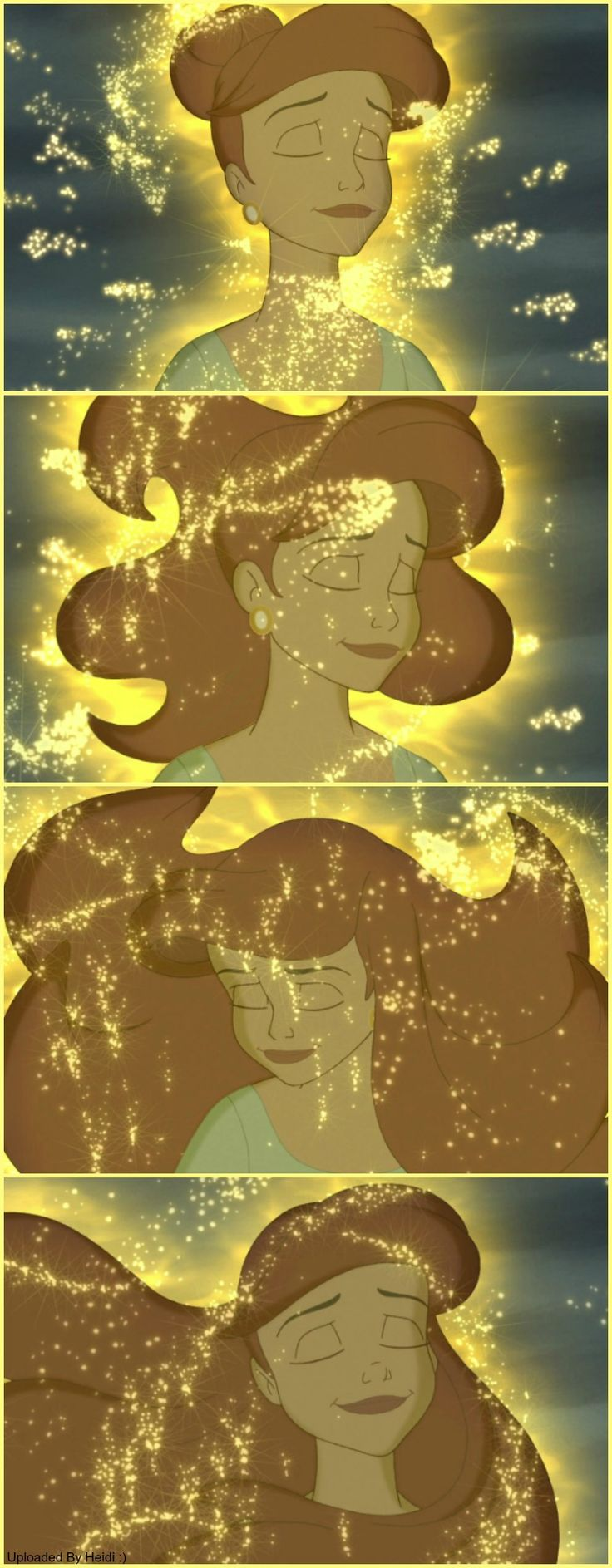 Ariel's beautiful transformation
