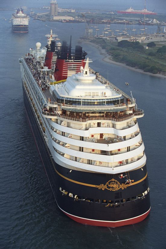 The Disney Wonder Pulls into Port Canaveral, Florida, Beh - http://www.dpbolvw.net/click-8074754-10566388-1457977858000  Sister Ship the Disney Magic,