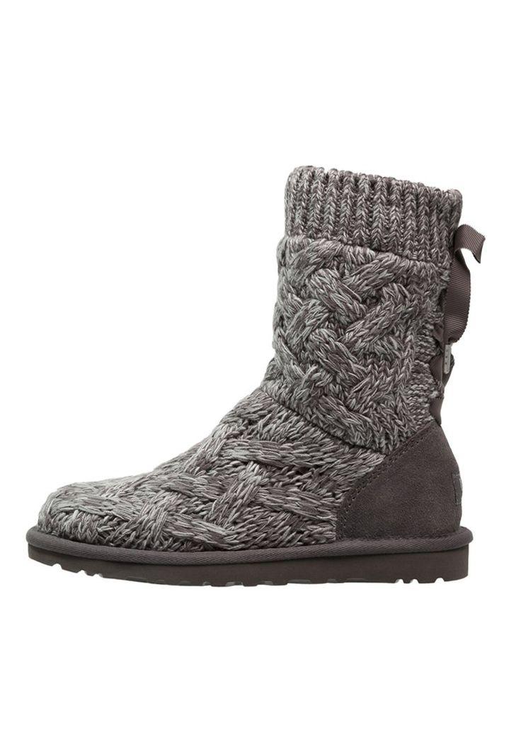 UGG ISLA szare Śniegowce heather grey