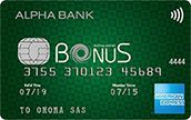 American Express Bonus green | ALPHA BANK