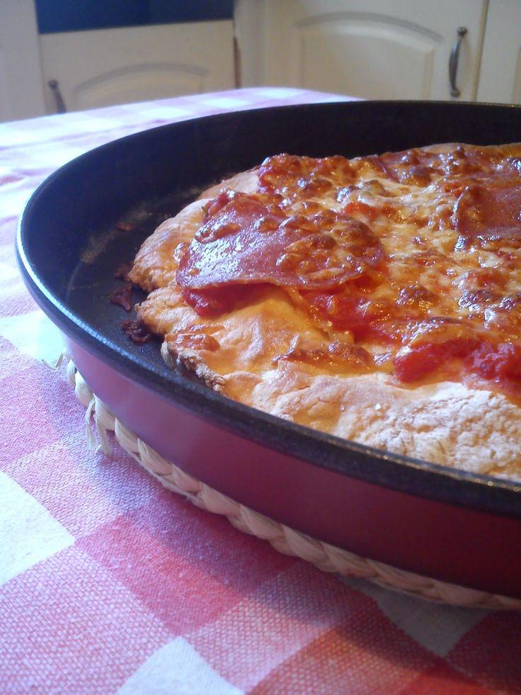Συνταγές που αρέσουν...: Η πιο εύκολη πίτσα