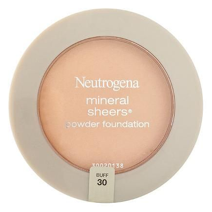 The Neutrogena Mineral Sheers Powder Foundation is oil-free and formulated with super-blendable minerals for a smooth and flawless finish. #Foundation #MakeupTips