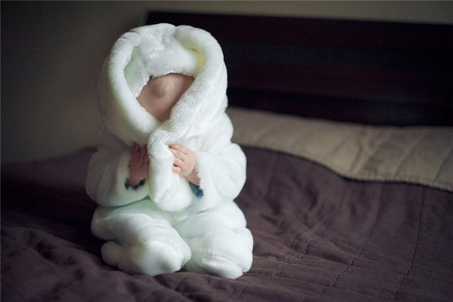 Bunny Costume!! I was a bunny when I was little, they can take after their godmother :)