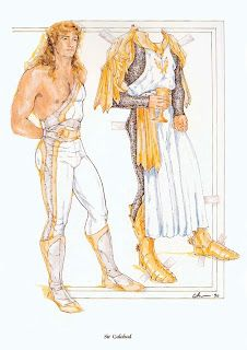 Paper Dolls: Sir Gallahad  Camelot