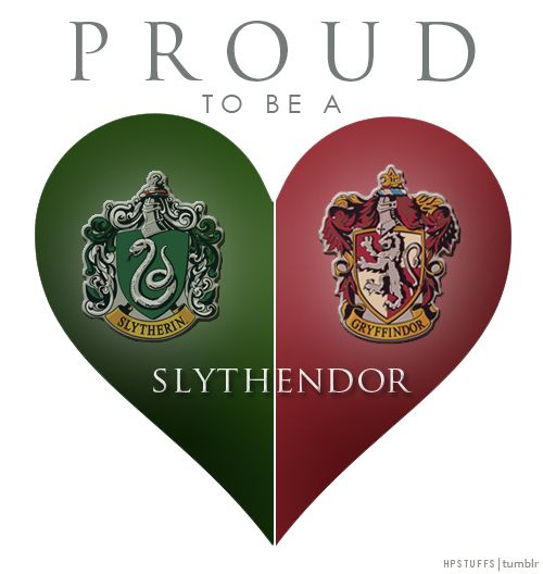 To be honest I took a test and got both gryffindor and Slytherin