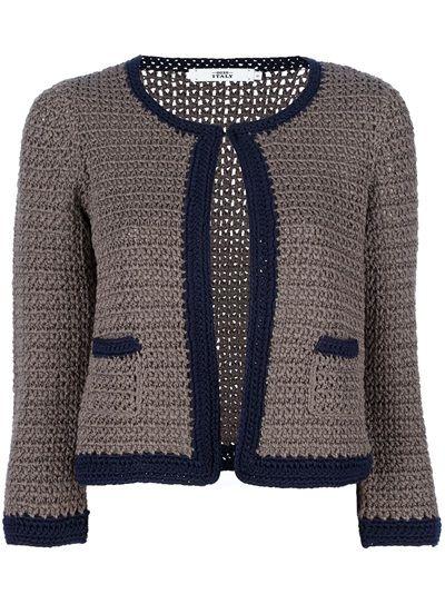 0039 Italy Crochet Cardigan - Petra Teufel - farfetch.com