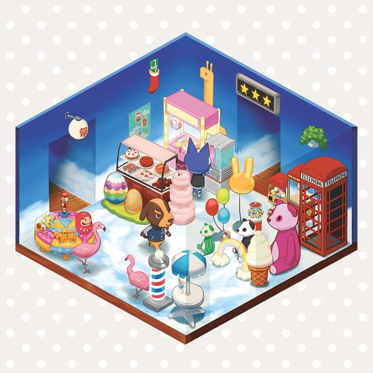 The product Animal Crossing Room (6 Types) 18 x 18 cm Print is sold by aivii in our Tictail store.  Tictail lets you create a beautiful online store for free - tictail.com