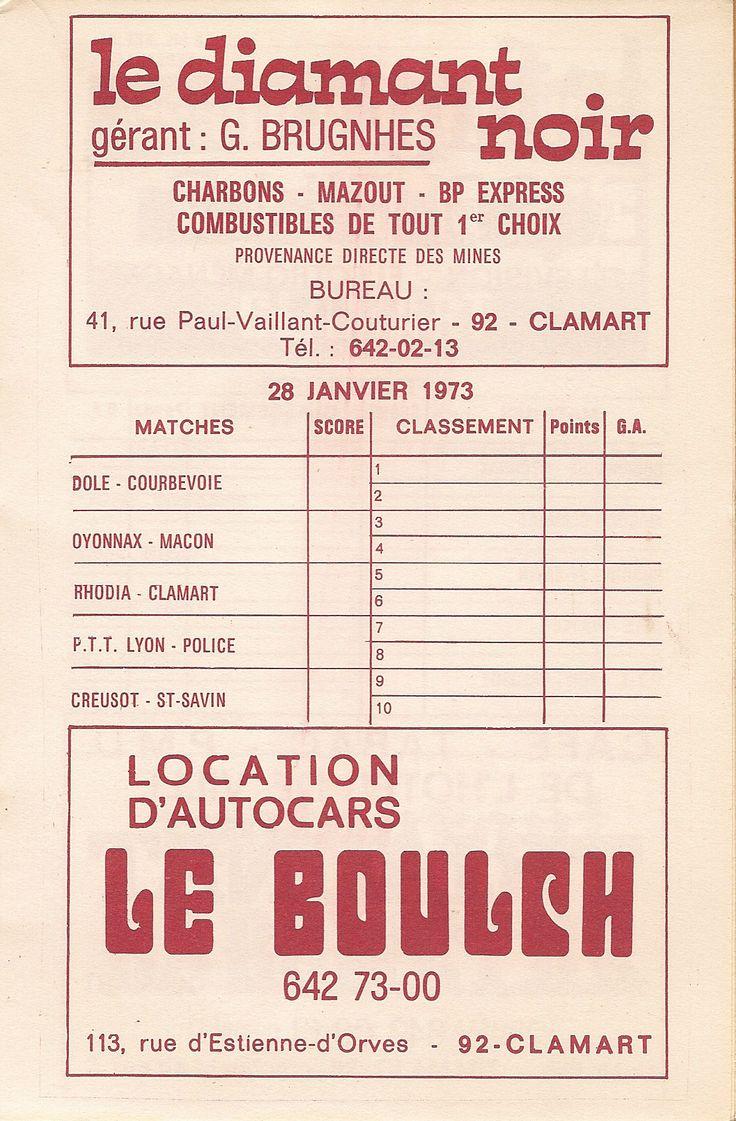Calendrier 1972-1973 - 2ème Division - Page 17