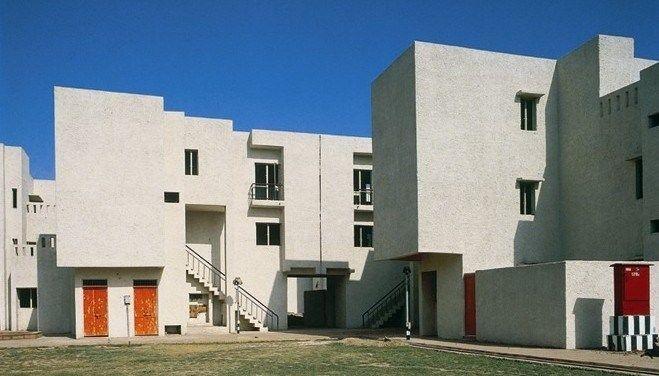 Raj Rewal Associates. Sheikh Sarai Housing, New Delhi, 1970