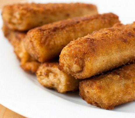 Krokiety z mięsem mielonym i bazylią - Przepisy - Magda Gessler - Smaki Życia - proste, bez jajka