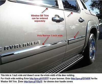 07-13 Chevy Avalanche, Tahoe, Yukon. Mirror-Finish stainless door acce – auto-accessories-now.shopify.com