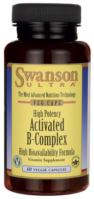Swanson Ultra High Potency Activated B-Complex High Bioavailability