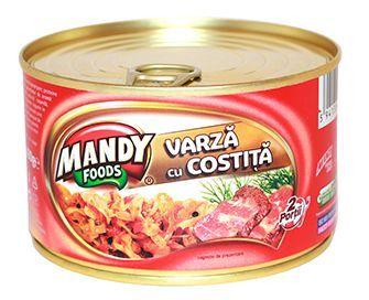 Varză cu Costiţă - Conservă easy-open, 400 g