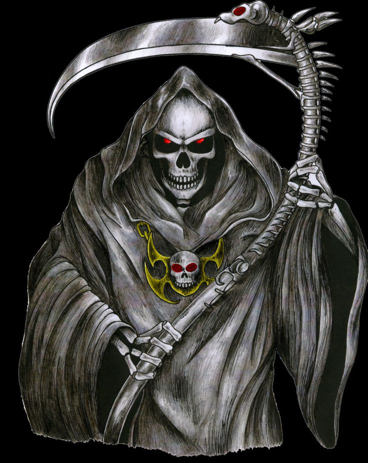The Grim Reaper by ShadowPhantom1997