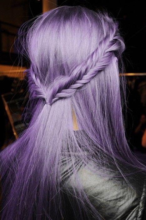 coloration cheveux lavande