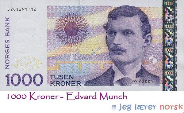 Munch i norske krøner
