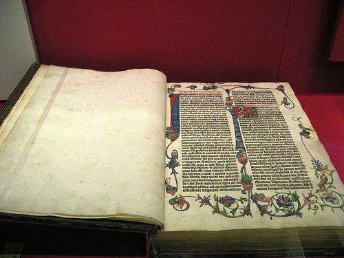 British Library Gutenberg Bible