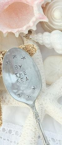 Sea Witch:  #Sea #Witch ~ Seashells and spoon.