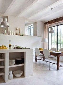 Design files islands and kitchens on pinterest for Provence kitchen design