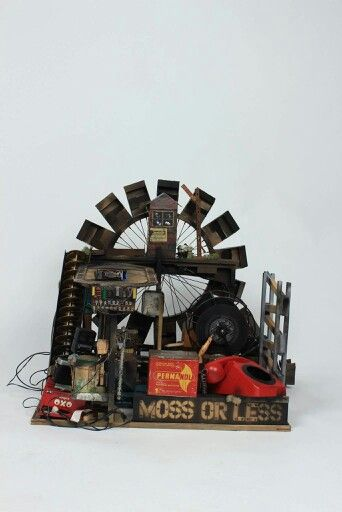 Better photos of last years exam piece, moss or less  #Midas #DollHouses #MidasDollHouses #Sculpture #Kinetic