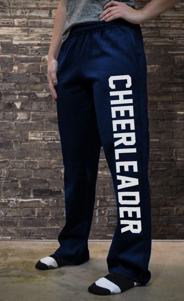 Cheerleading Fleece Sweatpants Varsity Cheerleader CH-00928