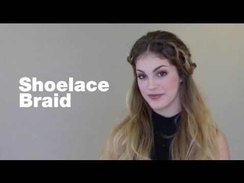 Tutorial: How to Create a Shoelace Braid - YouTube