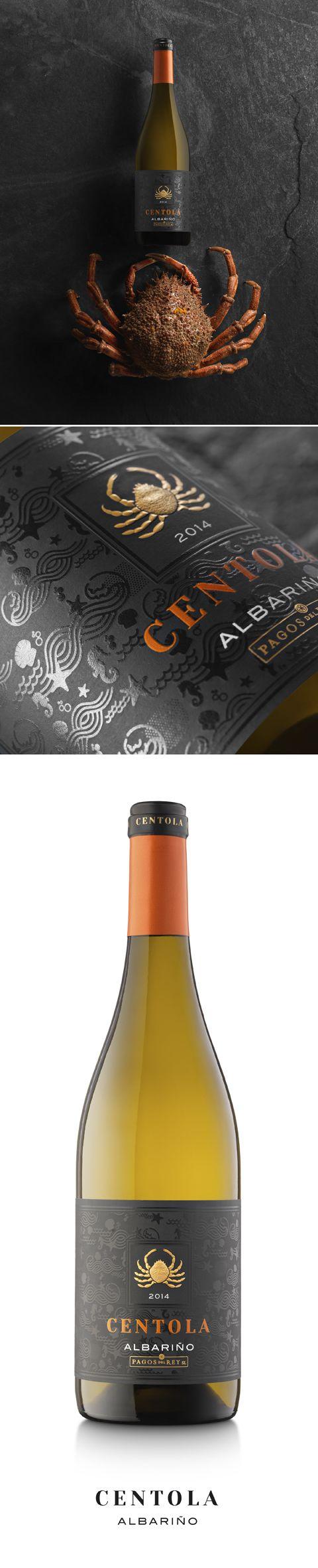 Centola Albariño. Pagos del Rey, S.L. Design by www.pagadisseny.com
