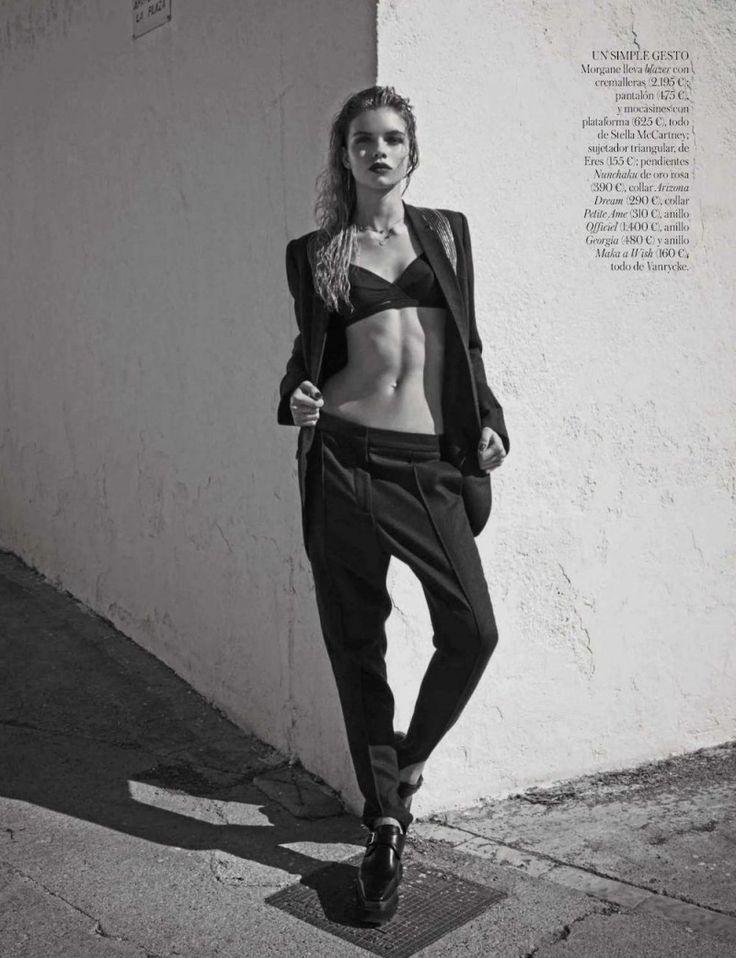 Stella, Gabby + Morgane Model Masculine Fashions for Vogue Spain by Mariano Vivanco