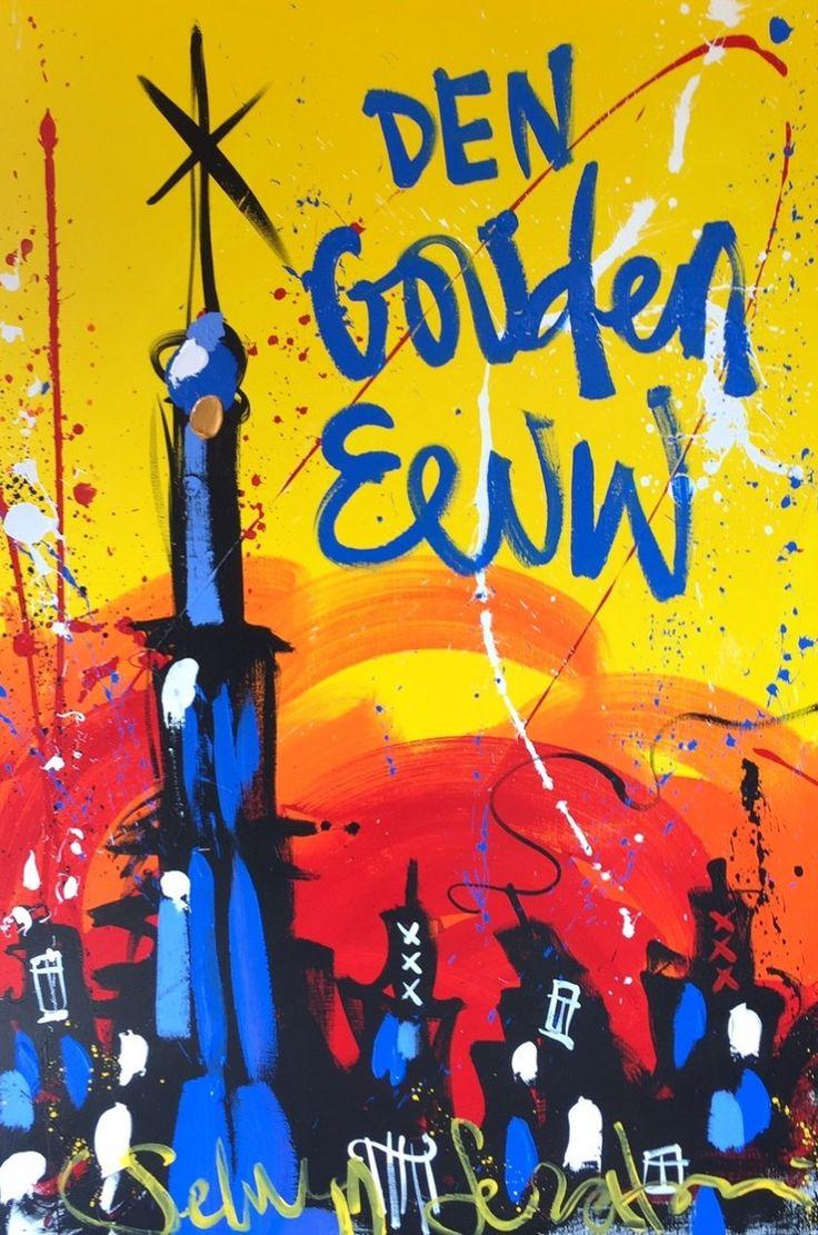 Selwyn Senatori (1973) Kunstenaar. Na het afronden van zijn opleiding aan de Hogeschool voor de Kunsten In Utrecht stort de kunstenaar zich vol overgave op de schilderkunst. Wie het werk van de kunstenaar aanschouwt ziet overduidelijk dat hij zijn Italiaanse wortels in zijn werk cultiveert. Zijn werk staat voor alles waar de kunstenaar van houdt: zijn kindertijd in Italië, lang tafelen met de familie, lekker eten en het leven in  Amsterdam.