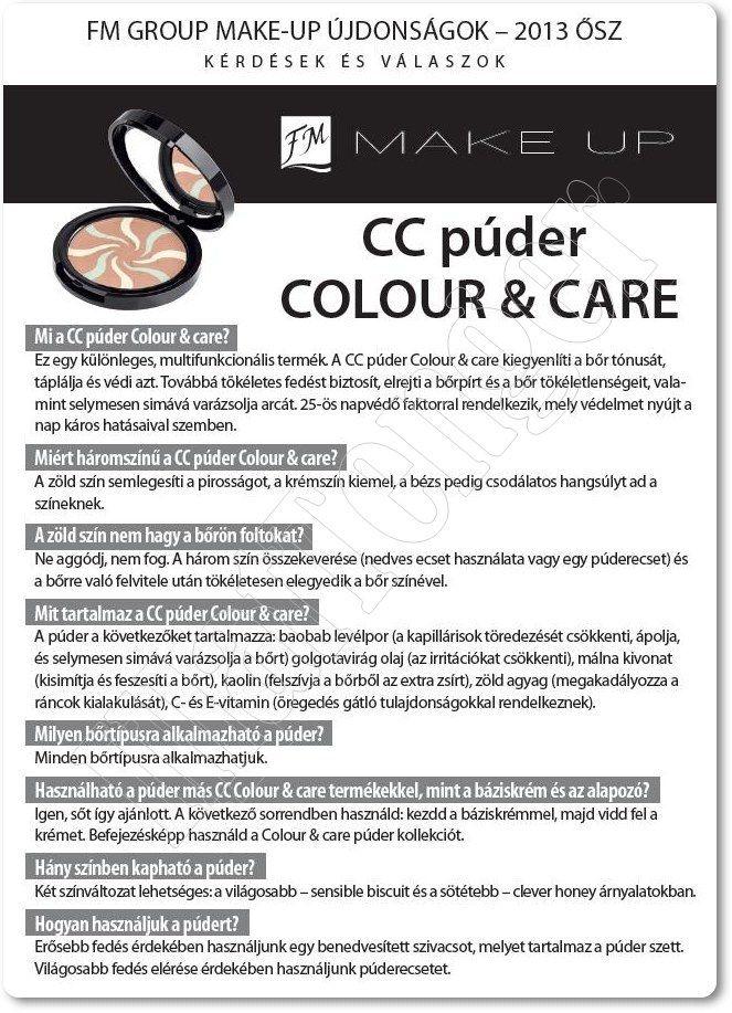 CC Powder Color & Care - Clever Honey és CC Powder Color & Care - Sensible Biscuit