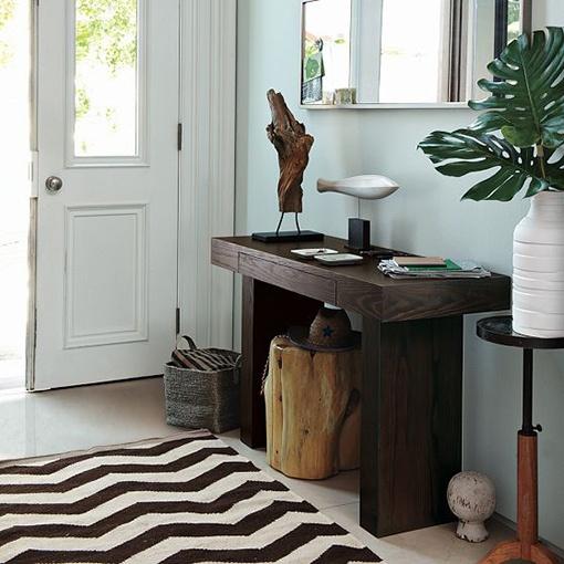 Muebles básicos para el recibidor