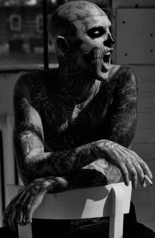 58 Amazing Full Body Tattoos (58 photos)