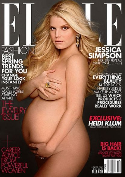 Jessica Simpson is the latest celebrity to do the iconic 1991 Demi Moore Vanity Fair nude photo.