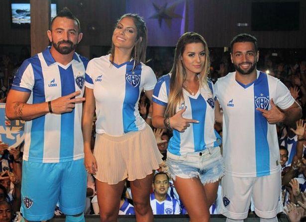 Paysandu apresenta suas novas camisas para 2016