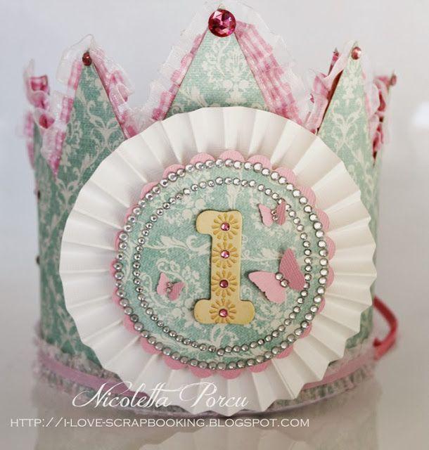 I Love Scrapbooking: Il primo compleanno di una principessa!