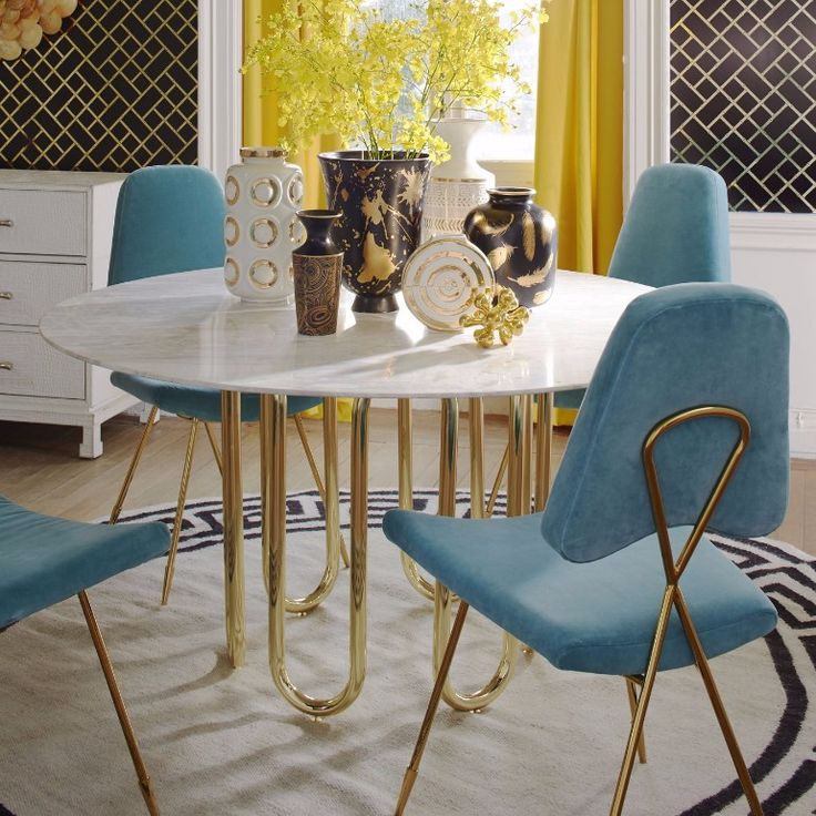 7 stylish blue dining room chairs that you will covet