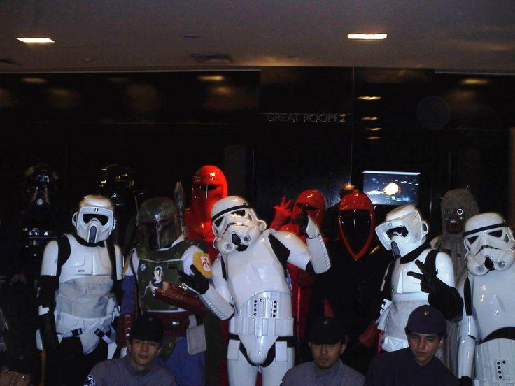 Evento Guerra de las Galaxias Hotel W